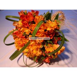 Bouquet de astroemérias