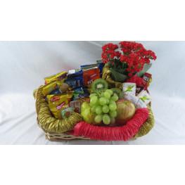 Cesta Matinal com Frutas
